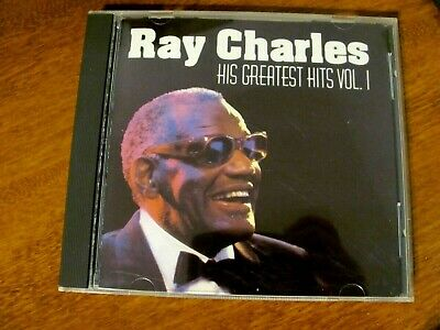 RAY CHARLES - HIS GREATEST HITS VOL. 1 CD - 20 OF HIS BEST HIT