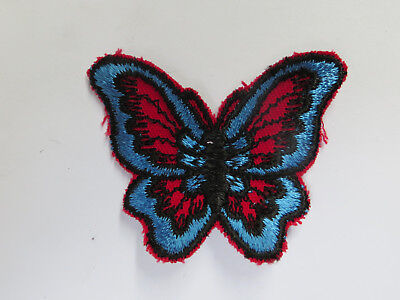 Vintage 60's / 70's Butterfly Patch! Jacket / Vest / Crafts / Mint!! / NOS!