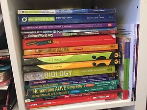 CHEAP YEARS 7-12 TEXBOOKS Balwyn Boroondara Area Preview