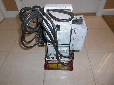 Burndy Epp 10 Hydraulic Pump 10000 Psi Enerpac Greenlee Hydraulic Pump