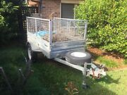 Box Trailer 7 x 4 Galvanised Parkwood Gold Coast City Preview
