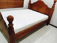 Queen solid oak with pillowtop mattress Farrar Palmerston Area Preview