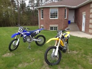 2016 YZ 450F and 2016 YZ 250