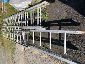 Ladders for sale from fire truck
