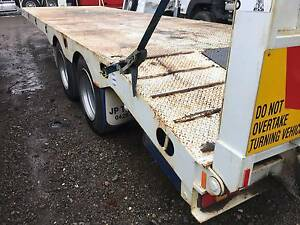 JP Trailers Bogie Axle Tag-Plant Trailer.Beavertail,ramps Inverell Inverell Area Preview