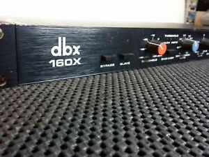 dbx 160x  compressor/limiter, two available