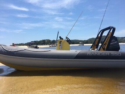 Prestige inflatable boat