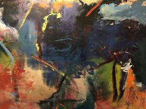 Original Abstract Painting by Alysa Beth-Engel Canadian Artist