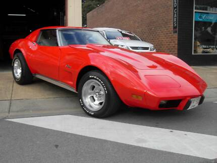1976 CHEV CORVETTE STINGRAY, 350 V8, AUTOMATIC Lang Lang Cardinia Area Preview