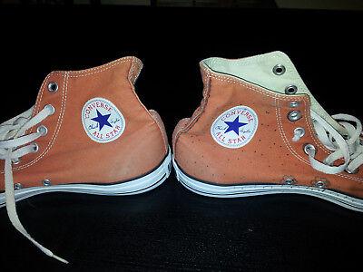 Orangefarbene Jeans Sneaker Gr. 44 Marke Converse - auch für Teenager  (Sneakers Für Converse)