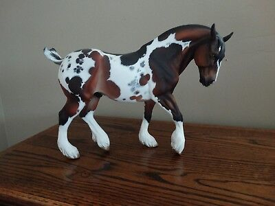 Artists Resin Model Horse Bear II Rhodes x Riley Traditional Draft Stallion
