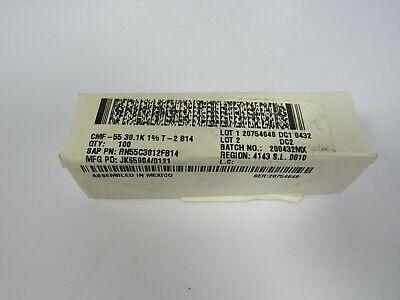 100 Dale Cmf-55 30.1k 1 110w Metal Film Resistors Rn55c3012fb14