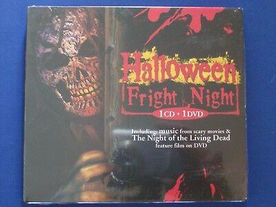 Halloween Fright Night [CD+ DVD:Night of the Living Dead]101 Strings*NEW - Halloween Fright Night Cd