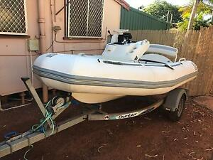 3.8 m zodiac 90 HP Port Hedland Port Hedland Area Preview
