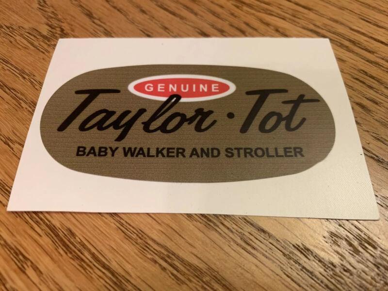 Taylor Tot Stroller Walker Decals
