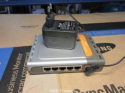 D-Link DES-1005D 5 Port Switch Fast Ethernet 10/100 Hub DES-1005DE - INCL PSU