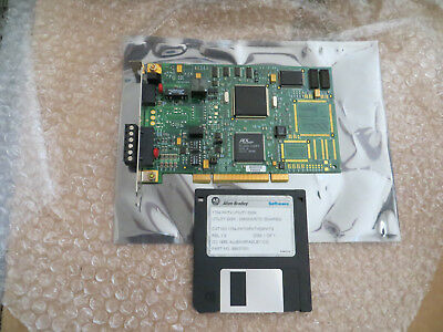 Allen Bradley Dhriodh485 Pci Card 1784-pktx Ser. B Very Nice Used Tested