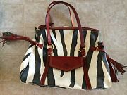 Dooney and Bourke Handbags Zebra