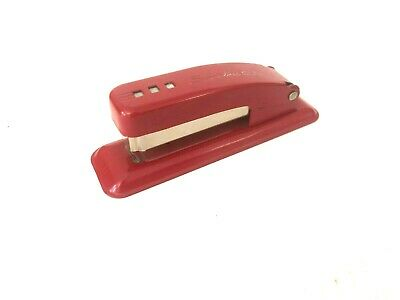 Vintage Red Swingline Cub Stapler - Made In The Usa - Long Island City Ny