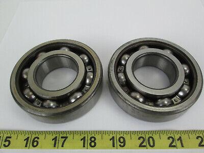 Lot Of 2 Skf Open Ball Bearings 6308c4 Repair Replacement Part