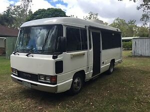 Toyota Coaster Motorhome camper sleeps 4 North Maclean Logan Area Preview
