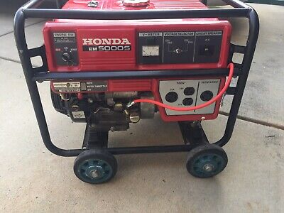 Honda Em5000s Generator 05191410013