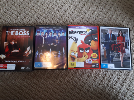 4 dvds for sale.