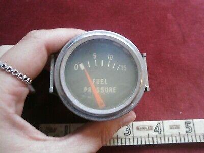 Vintage fuel pressure gauge