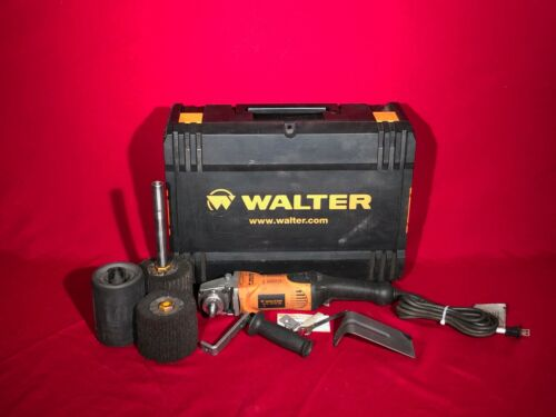WALTER LINE-MATE III VARIABLE SPEED DRUM SANDER FINISHING SYSTEM 6268C