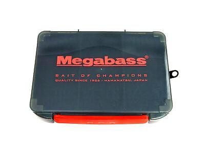 Fishing Tackle Box (Megabass Lunker Lunch Box Tackle Box Small Plastic Bass Fishing Tackle Box )