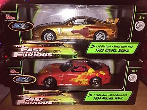 Fast & Furious 1:18 Diecast Vehicles