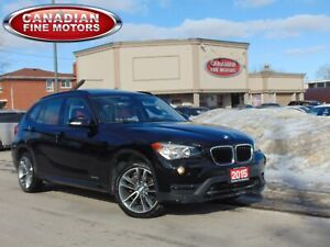 2015 BMW X1 28i |SPORT LINE| RED LEATHER| PANO| EXECUTIVE PKG