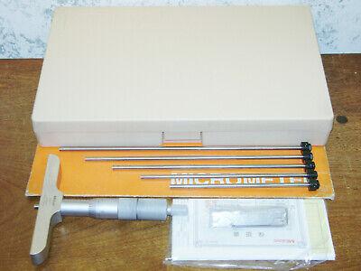 Mitutoyo 0-6 Inch Depth Micrometer Set No 129-132 W Case
