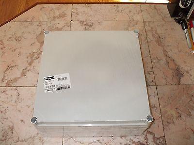 Hoffman Q303013pci Enclosure Junction Box Opaque Cover Gray.