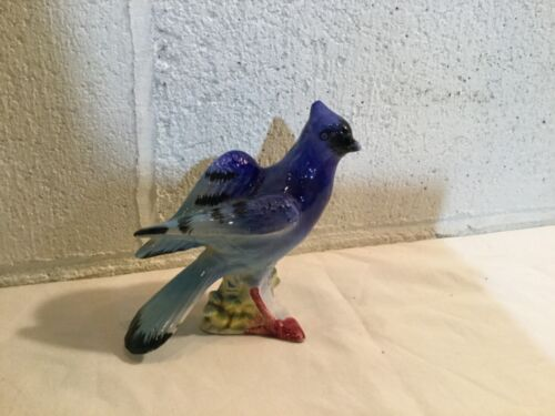 Blue Jay Figurine from Japan