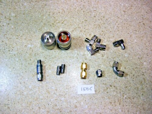 1585 Lot of RF SMA Adapters - Variety!