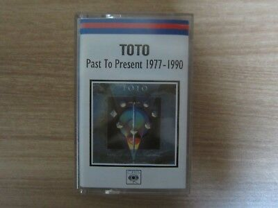 TOTO PAST TO PRESENT 1977-1990 Korea Cassette Tape RARE