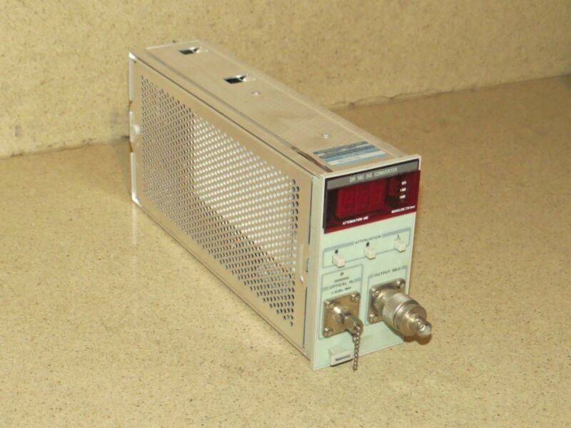 ^^ TEKTRONIX OR 502 OR502 O/E CONVERTER PLUG IN (TP29)