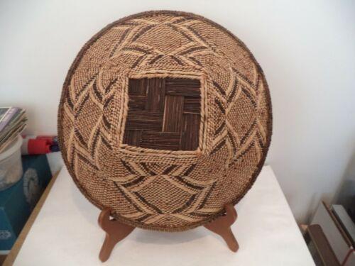 Tonga Basket Binga Zimbabwe African Art 14 Inch WITH TAG