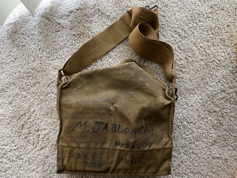 WW1 Gas Mask / Named
