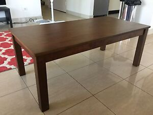 Solid Rubberwood coffee table. Terrigal Gosford Area Preview