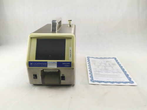 Lighthouse Solair 3200+ Portable Particle Counter with Calibration Certificate