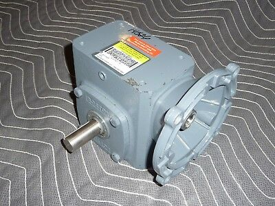 Boston Gear Gearbox Speed Reducer F71810svb5g3 101 0.875 Dia. Shaft