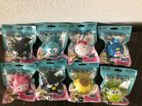 Complete Set of 8 Hello Sanrio Squishme Series 2 New Sealed!