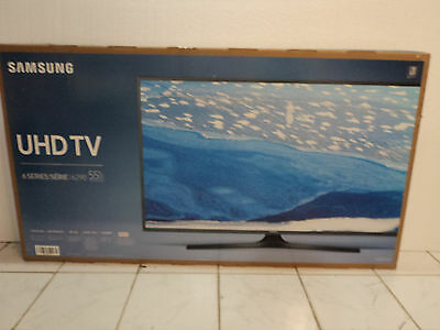 Samsung Un55ku6290 55  Black Led Uhd 4K Smart Hdtv