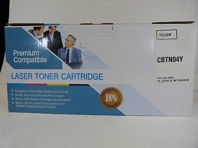 - TN-04Y Yellow Toner Cartridge HL- 2700CN MFC-9420CN Brother Laser Printer TN04