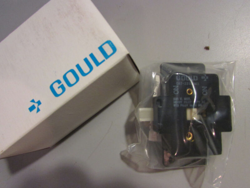 Telemecanique Gould 2250HI3 Auxiliary Contact Kit 600V 2 N/O 2250-HI 3