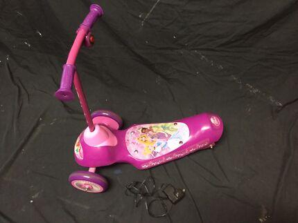 Electric princess scooter