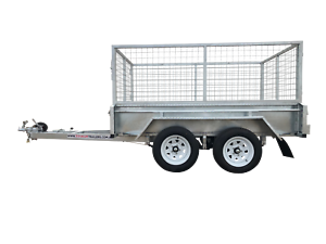 8x5 Dual Axle 2000kg $40p/w Galvanised Box Trailer 400mm sides Garbutt Townsville City Preview