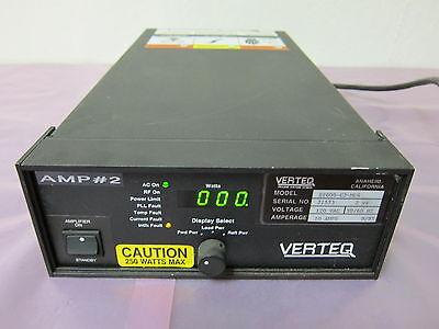 Verteq ST600-C2-MC4 Amplifier, RF, Megasonic, AE 3156023-000D 402030